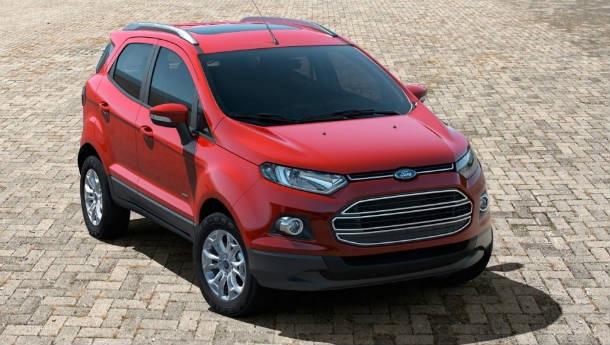 Production version of Ford EcoSport unveiled at Beijing auto show