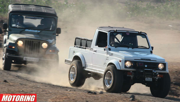 Mahindra Thar vs Maruti Suzuki Gypsy - Flight mode