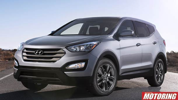 The new Hyundai Santa Fe!