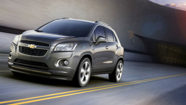 Chevy reveals small SUV called the Trax