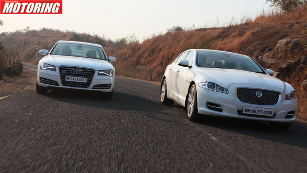Audi A8 L Vs Jaguar XJ-L - The Perfect Foil