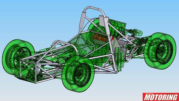 Building A Single Seat Race Car Part I