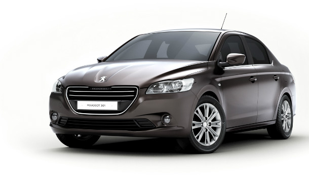 Peugeot reveals 301 model for developing markets