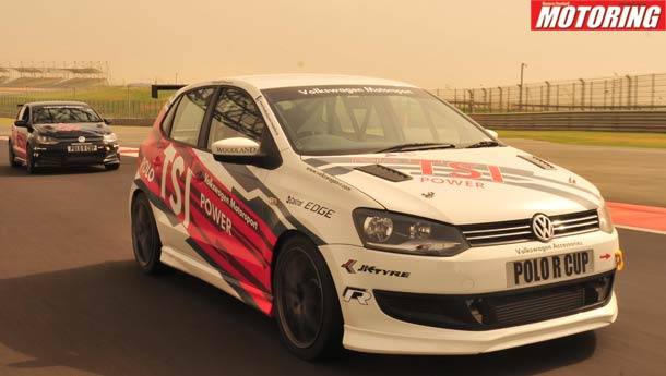 Polo vaulter - We drive the 181 bhp Volkswagen Polo R-Cup Racer!