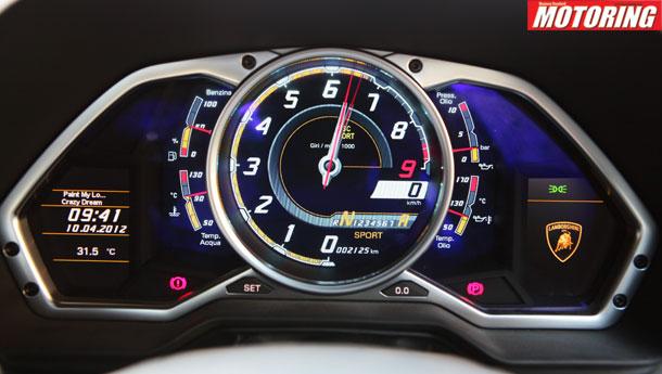 Lamborghini Aventador Speedometer The all new lambo aventador j Lamborghini Aventador Speedometer Mph