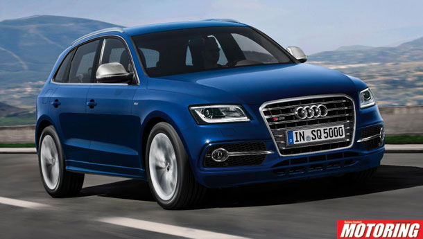HOLY SMOKES! Audi unleashes the bi-turbo SQ5!