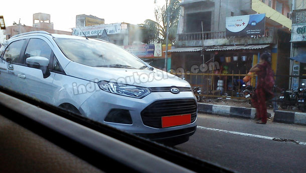 Ford EcoSport India first pictures