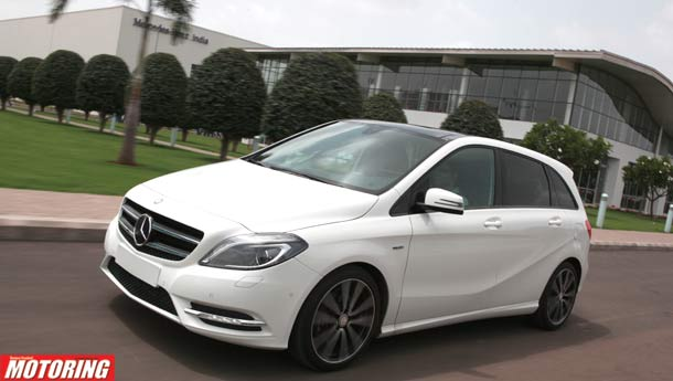 Mercedes-Benz B-Class unveiled in India