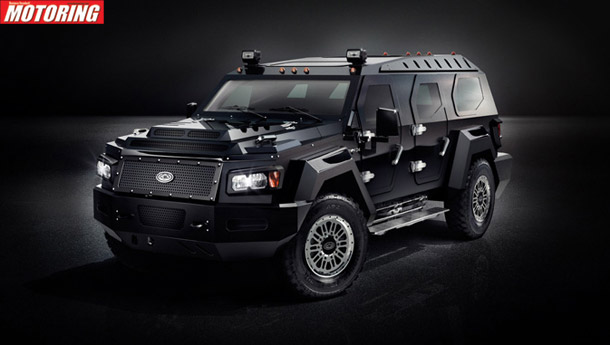 Conquest vehicles introduces new EVADE SUV