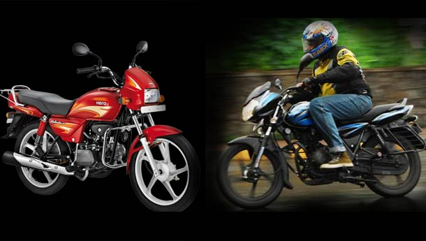 Compare Bikes In India hero hero motocorp bajaj