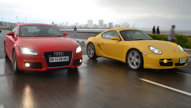 Audi TT vs Porsche Cayman S - Used to be