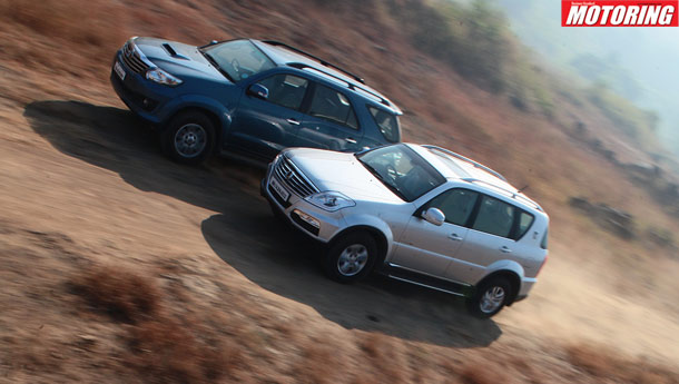 Toyota Fortuner vs Ssanyong Rexton