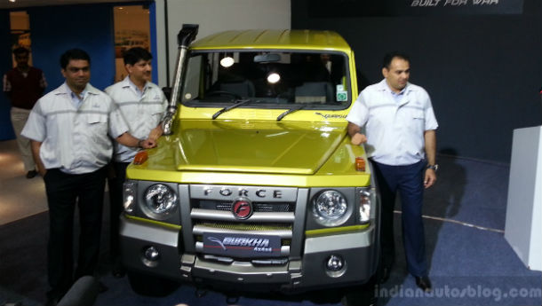 Force Motors launches new Gurkha!