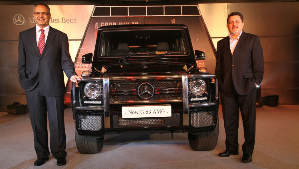 Mercedes-Benz launches G63 AMG!